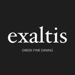 exaltis fine dining logo